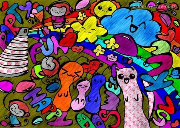 Tutorial Cara Membuat Doodle Art Bagi Pemula