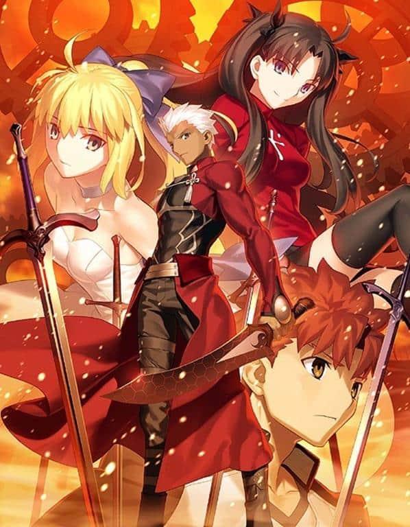 Urutan Nonton Fate Series : urutan, nonton, series, Grail, Urutan, Nonton, Anime, Series