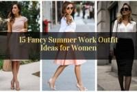 Fancy Summer Work Outfit Ideas for Women_16