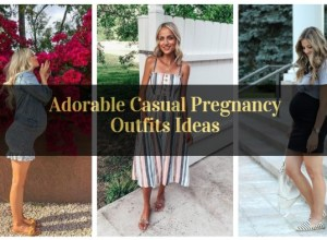 Adorable Casual Pregnancy Outfits Ideas_featured