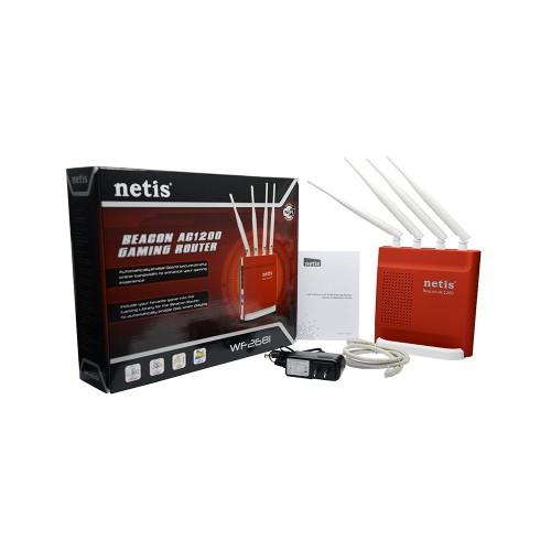 Netis WF2681 Beacon AC1200 Dual Band Gigabyte Gaming Router