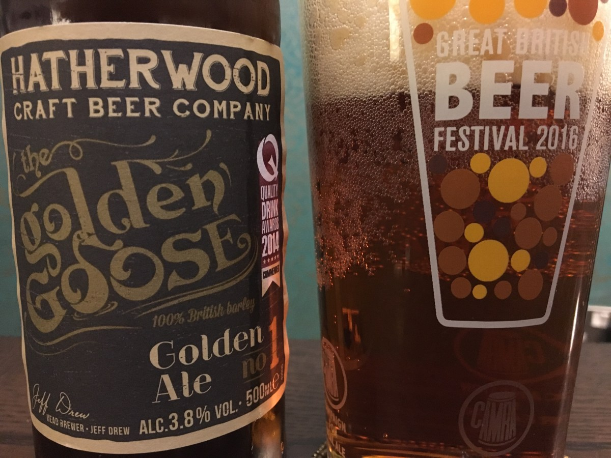 Hatherwood's Golden Goose Beer from Lidl