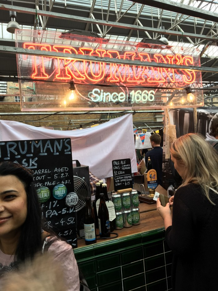 Trumans - Brewers Market Stand