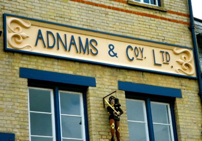 Adnams Brwery in Southwold