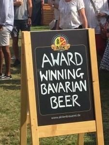 Award WInning Bavarian Beer