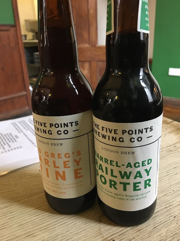 Barrel Aged Beers From Five Points