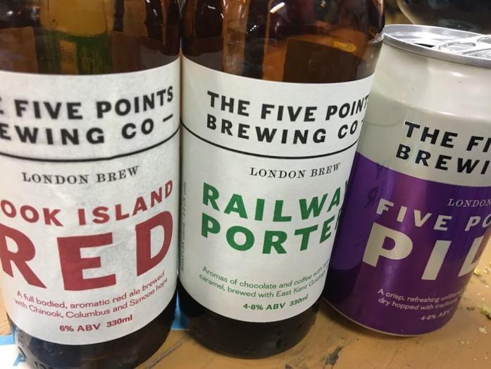 Five Points excellent range of core beers