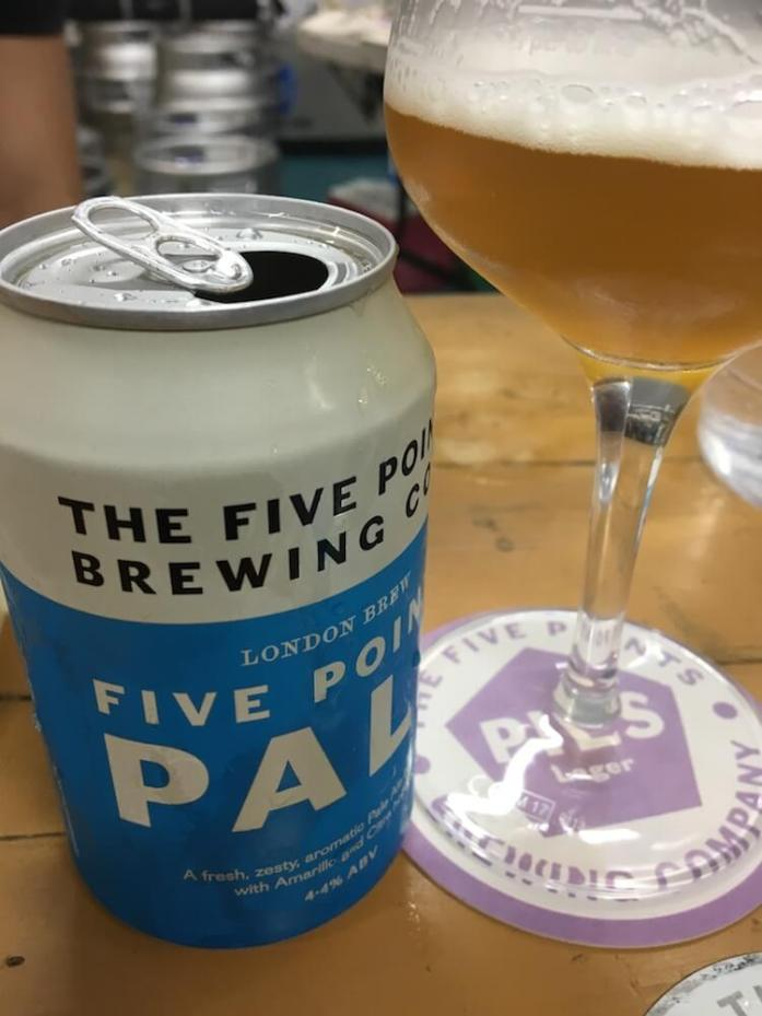 Five Points Brewing Pale