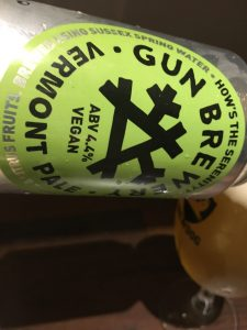 Gun Brewery - How's the Serenity? Vermont Pale Ale