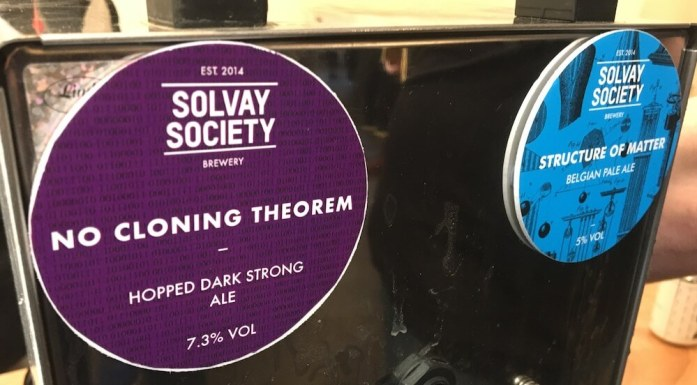 No Cloning Theorem - Hopped Dark Strong Ale