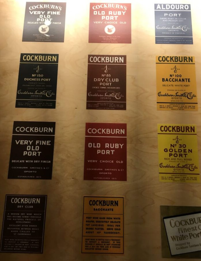 Cockburn's labels