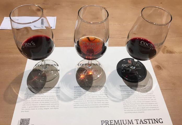 Cockburn's Premium Tasting