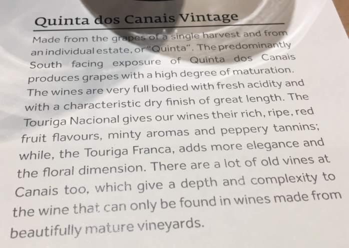 Quinta dos Canais Vintage