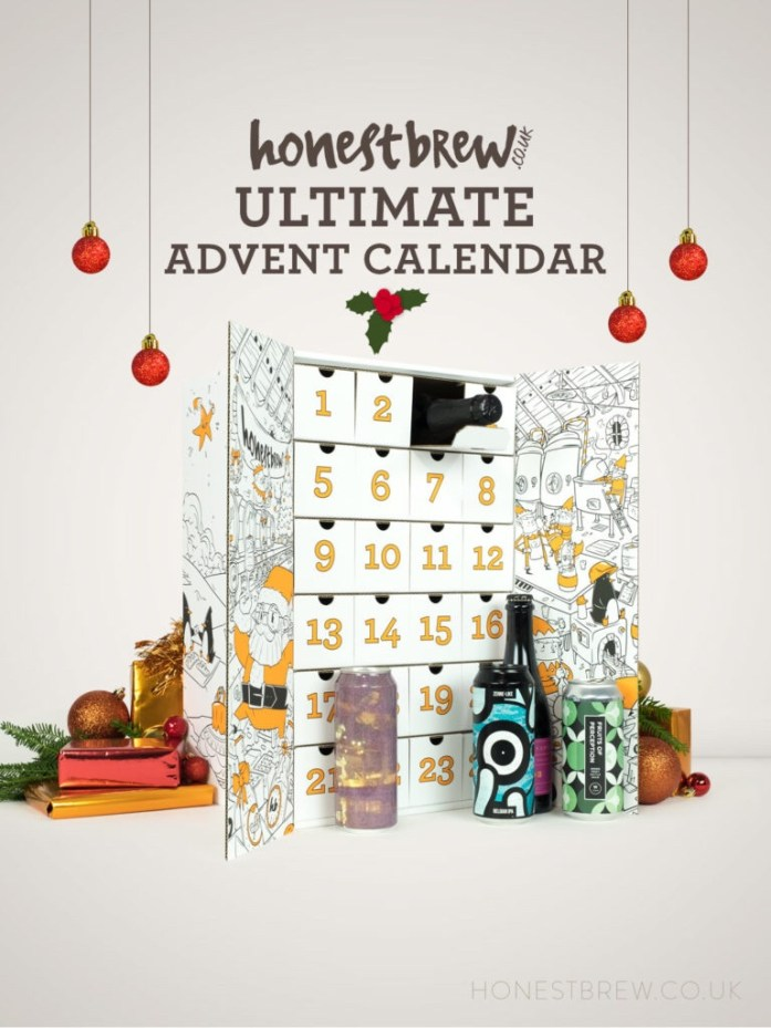 Honestbrew ultimate beer advent calendar