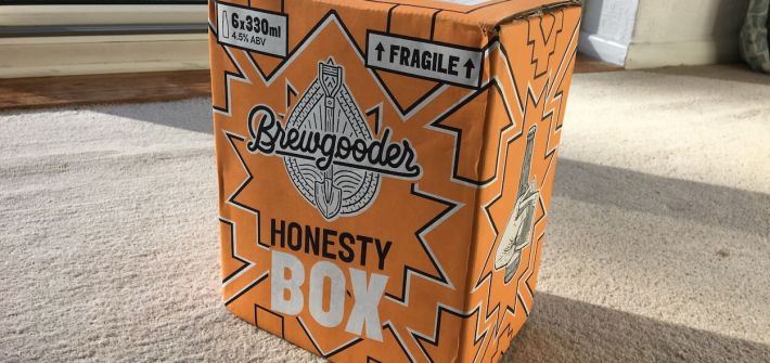 Beer Honesty Box - Pay What You Want