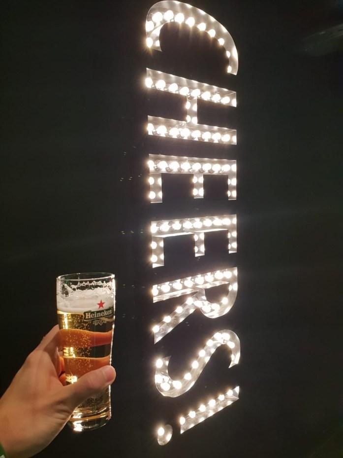 Cheers! Heineken