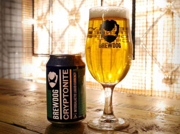 Brewdog accepts cryptocurrency