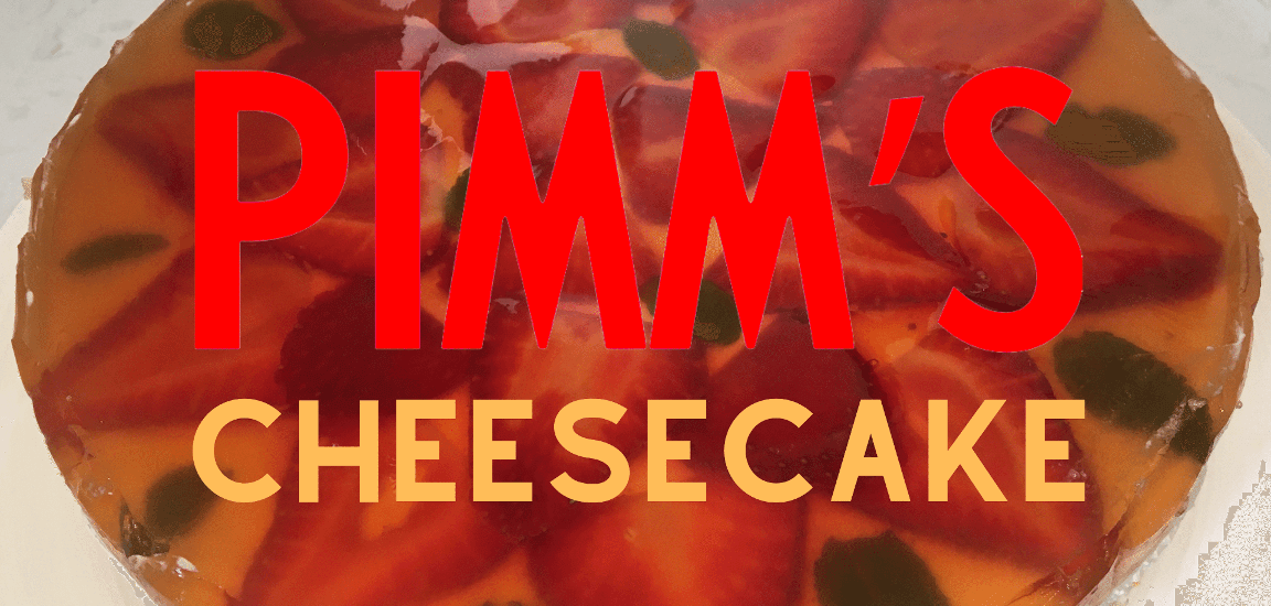 Try this Pimm's Cheesecake Recipe