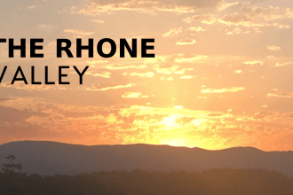 Rhone Valley Sunset in France