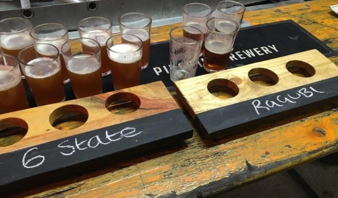 Pilgrim Beers - 6 State and Ragubi