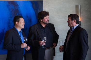 Quinton Jay (Managing Director, Bacchus Capital), Ed Sbragia, Greg Lill (Co-Owner/Partner/CEO, DeLille Cellars)