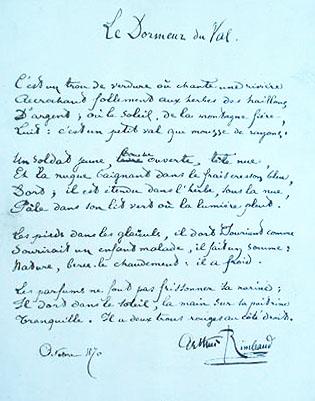 Le Dormeur Du Val Date : dormeur, Dormeur, Arthur, Rimbaud