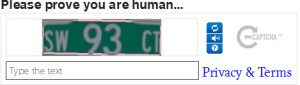 Please prove you are human...