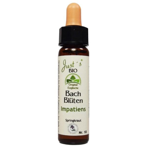 Impatiens/ Springkraut Nr. 18 Bio Bachblüten Tropfen original englische Qualität