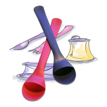 Sølefri skje med utviklingsmuligheter/ the spoon with more possiblilties