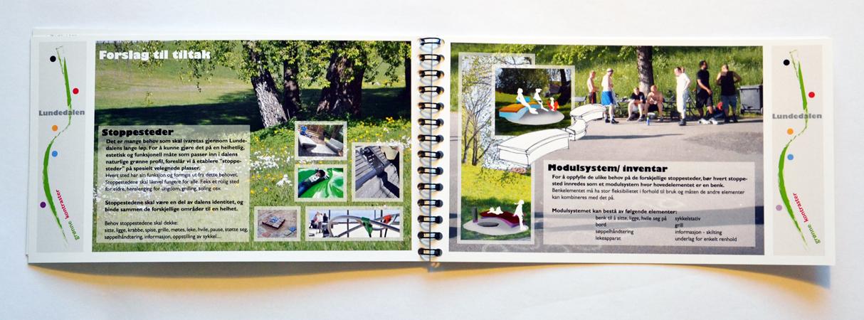 Designprofil Lundedalen inndeling og innredning/ design profile division and furnishing