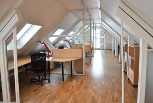 TeamConsulting ~ gang og kontorer / walking areas and offices