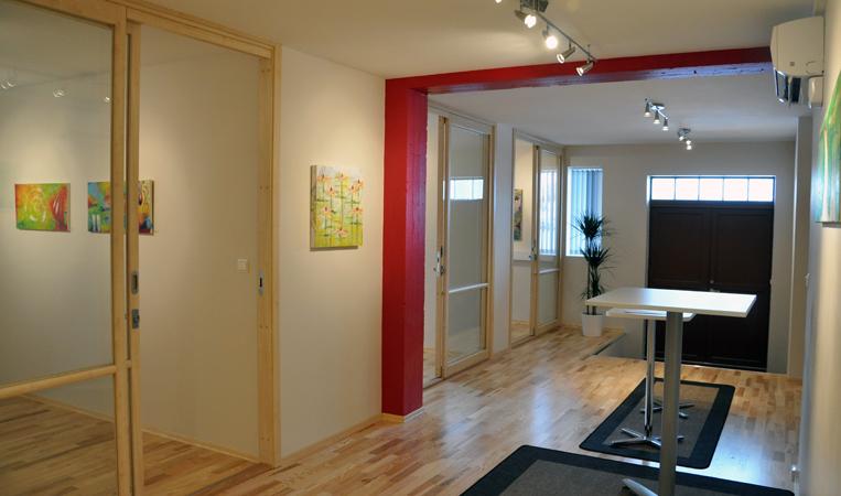 TQM interiør inngangparti og gang / interior entrance and hall