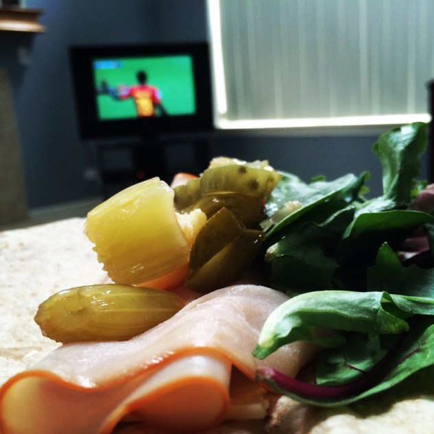 world cup, fifa, lunch, salad, wrap, pizza