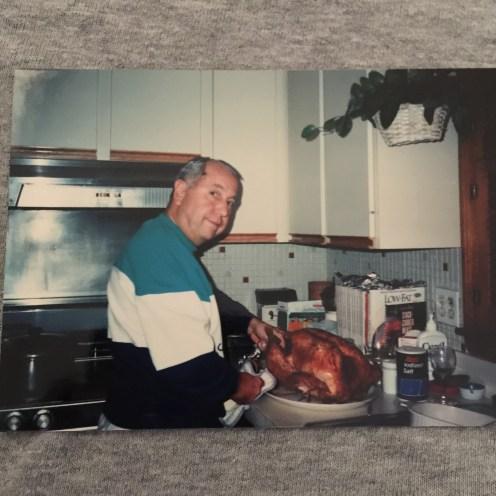 My grandpa 21 years ago.