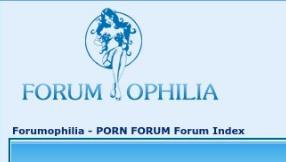 Forumophilia porn