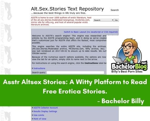 ASSTR erotica reviews