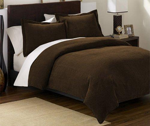 Queen Comforter Set 3 Piece Black or Brown  Bachelor