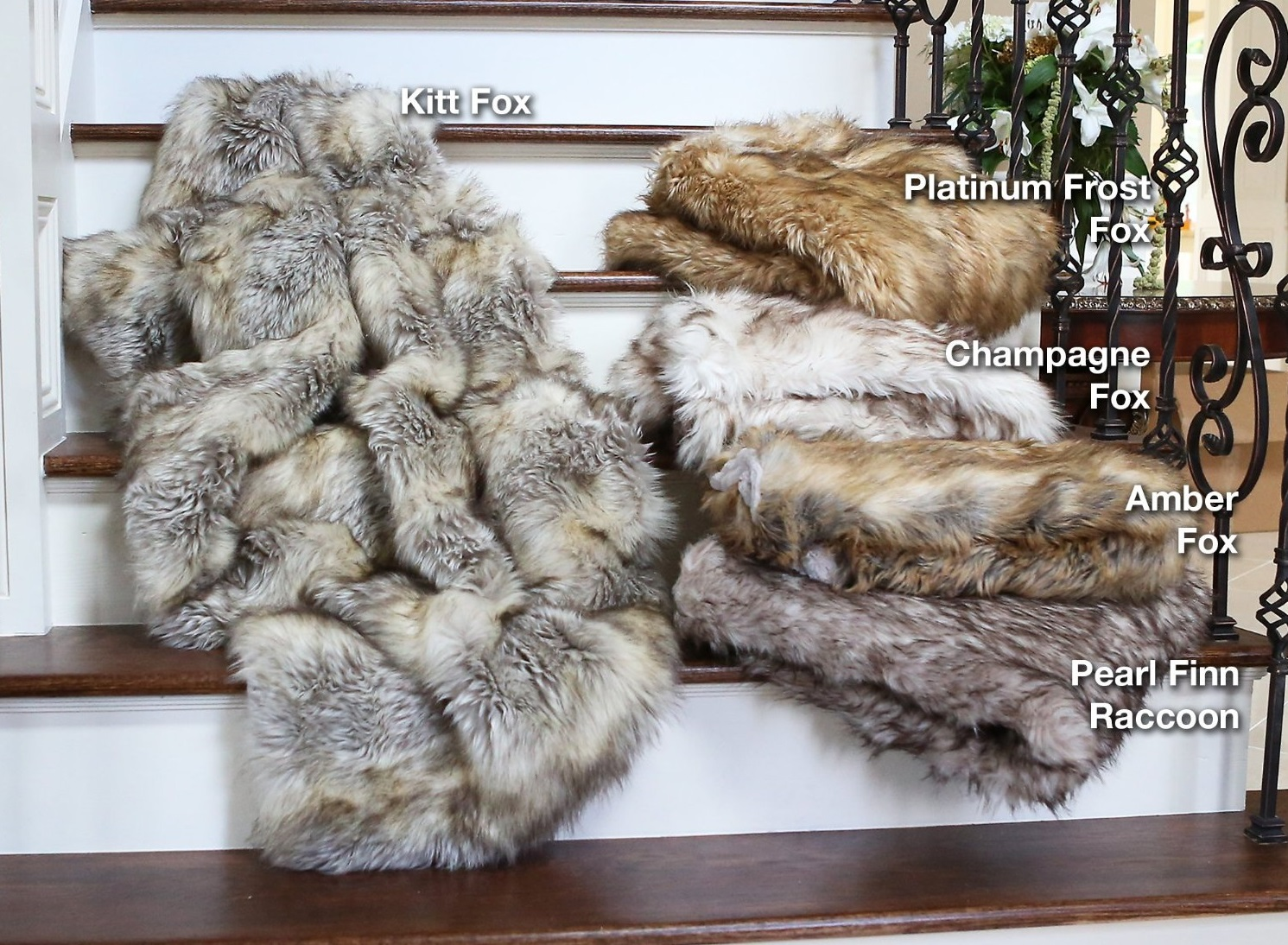 Fox Faux Fur Throw Blanket  Bachelor On A Budget