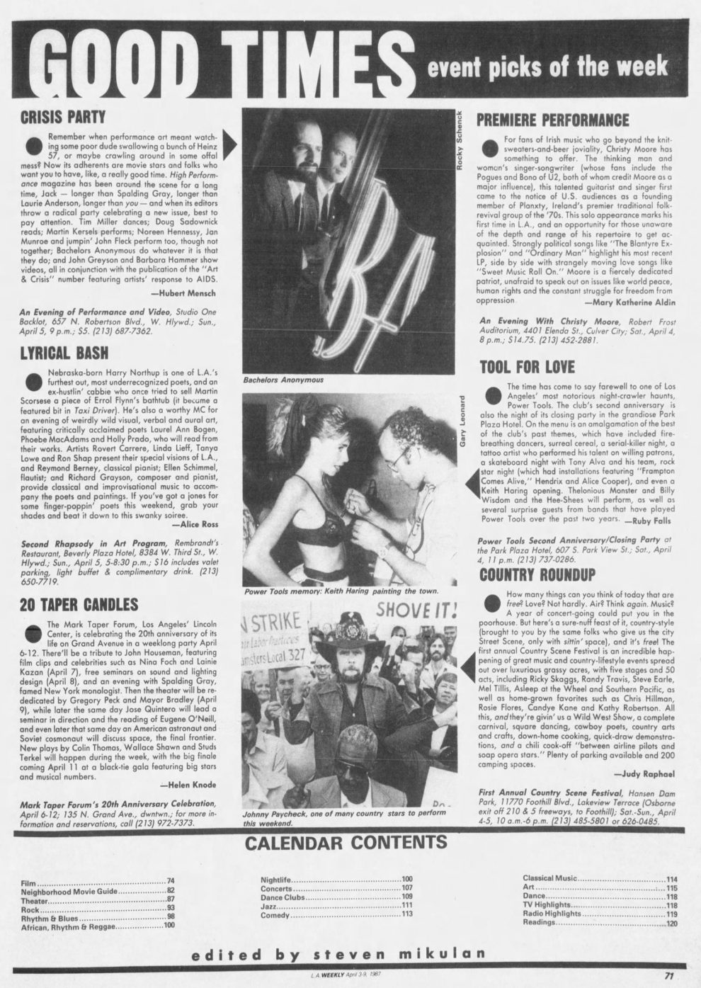 Bachelors Anonymous in L.A. Weekly