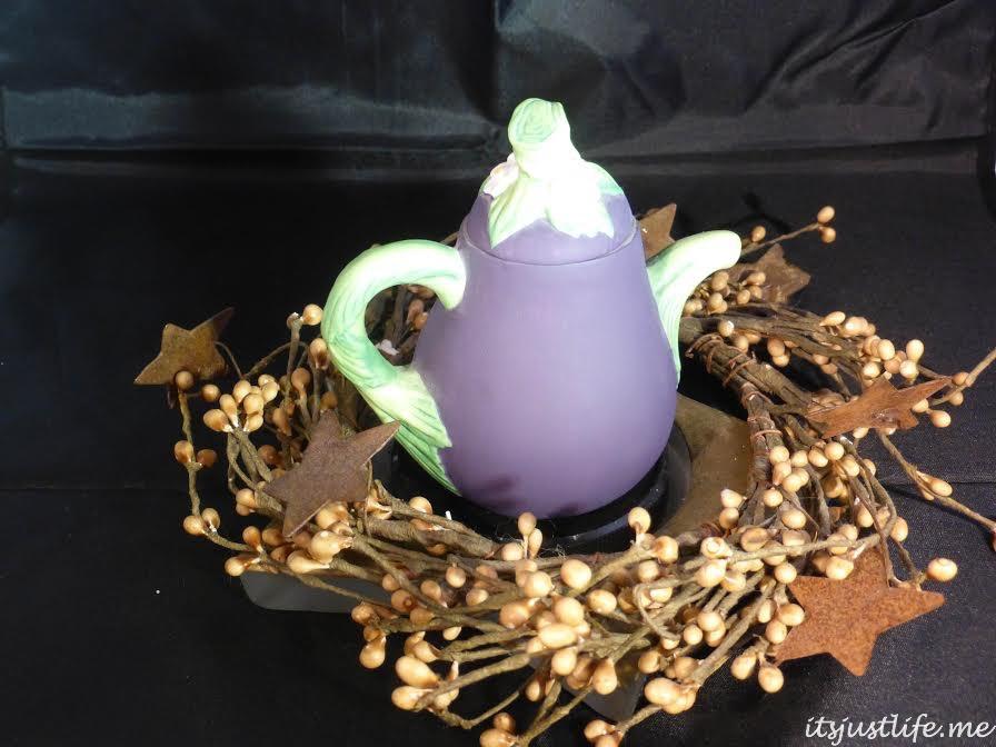 Eggplant Mini Teapot
