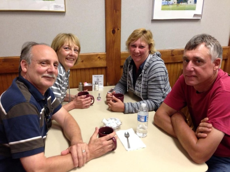 Chris, Paula, Beth Ann and Mark   June 2014