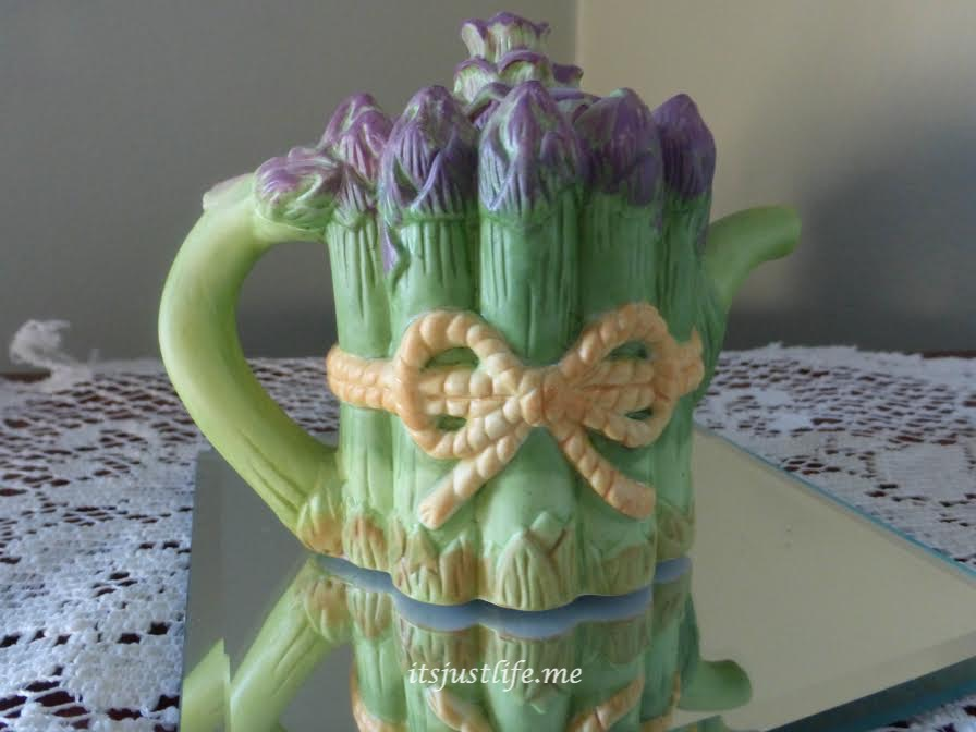 Asparagus Teapot on It's Just Life