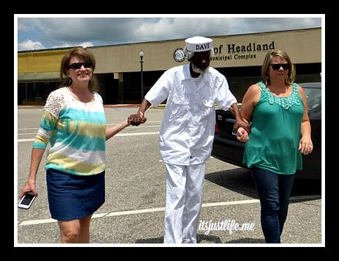 Debbie Yurevich, Dave Whatley and Lori Barefield head to the Dancin' Dave Peanut in Headland, AL