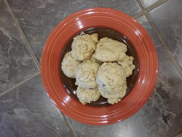 plate of cookies
