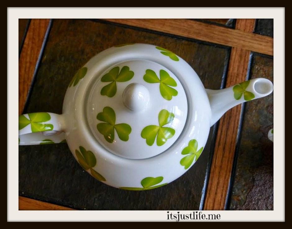 shamrock teapot2