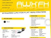 Mực in mã vạch Armor AWX FH