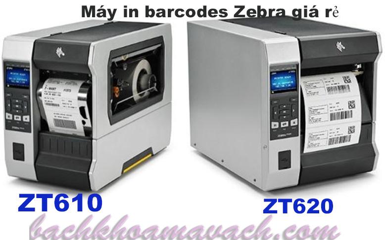 Máy in barcodes Zebra ZT600 giá rẻ