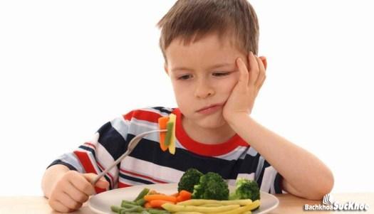 Biểu hiện biếng ăn ở trẻ nhỏ