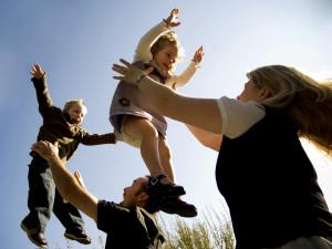 Familienleben - istockphoto.com/ Renphoto