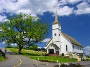 Kirche auf dem Lande
